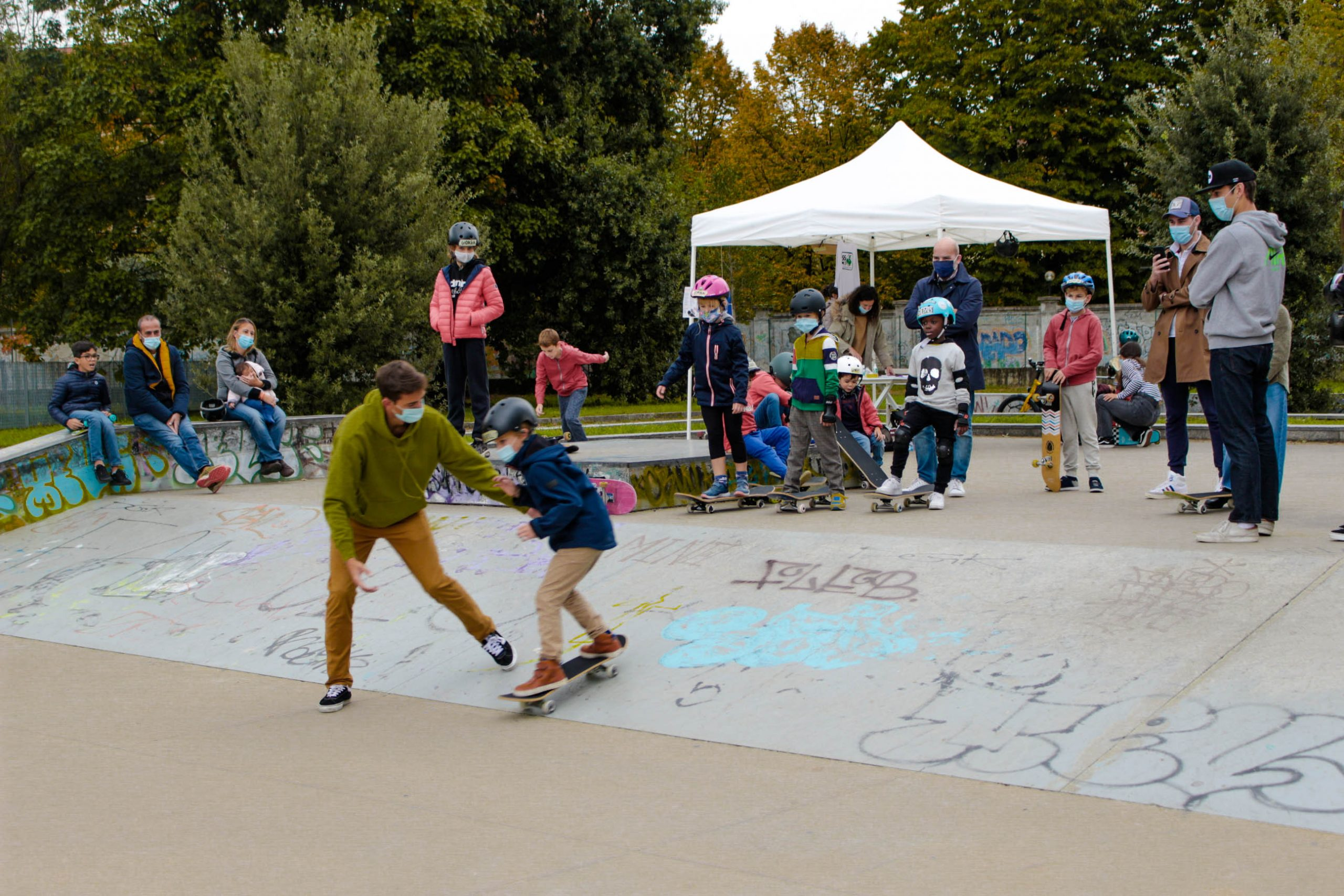 Scuola di skateboard